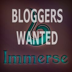 Immerse-Bloggers Wanted   Flickr - Photo Sharing!