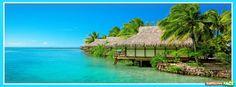 Complejo turístico en el mar - Portadas para Facebook