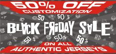 50% OFF CUSTOMIZATION ON ALL AUTHENTIC JERSEYS! COOLHOCKEY.com Black Friday Sale. ALL NHL TEAMS INCLUDING: Calgary Flames, Edmonton Oilers, Winnipeg Jets, Ottawa Senators, Vancouver Canucks, Toronto Maple Leafs, Montreal Canadiens.