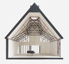 Jonathan Tuckey Design is one of the UK's leading advocates for remodelling and radically transforming old buildings for modern uses. Wood Architecture, Architecture Drawings, Amazing Architecture, Architecture Details, Architecture Models, Recording Studio Design, 3d Modelle, Arch Model, Architectural Section