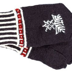 Maybe I'll knit a variation of these - North Karelian mittens Fingerless Mittens, Knit Mittens, Knitting Socks, Knit Socks, Wrist Warmers, Winter Hats, Beanie, Creative, Pattern