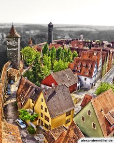 Rothenburg Ob Der Tauber, Wonders Of The World, Gingerbread, Germany, Around The Worlds, Globetrotter, House Styles, Spaces, Travel