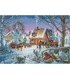 Gold Collection Sweet Memories Counted Cross Stitch Kit-16