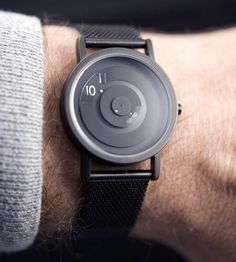 Mysteriously Designed Timekeepers : Reveal watch
