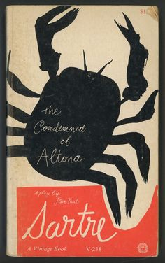 the condemned of altona (1961 ed., cover design by paul rand)