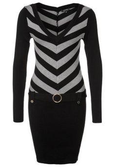 Gebreide jurken Morgan RUFFO - Gebreide jurk - Grijs Grijs: € 59,95 Bij Zalando (op 3-10-14). Gratis bezorging & retournering, snelle levering en veilig betalen!
