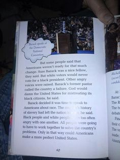 Look at what a Common Core approved book is teaching children about Barack Obama…
