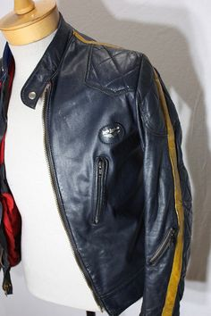 I've always wanted a cool authentic leather jacket like this...now I just need to learn how to snap and buy some hair grease.     I really do like this jacket though
