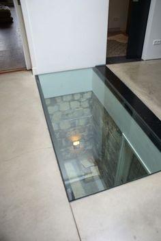 Choose the Right Basement Flooring Home Design Plans, Home Interior Design, Interior Architecture, Floor Design, House Design, Redo Stairs, Victoria House, Ultra Modern Homes, Glass Floor