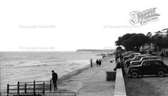 Mudeford, The Promenade c.1955, from Francis Frith