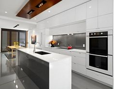 Elegant Contemporary Kitchen Ideas - http://www.kravelv.com/elegant-contemporary-kitchen-ideas/