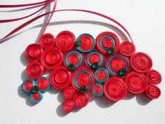 high fashion paper jewelry - Google Search