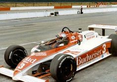 Mario Andretti - Lola Cosworth TC - Newman-Haas Racing - Domino's Pizza 500 - 1983 PPG Indy Car World Series, round 7 Indy Car Racing, Indy Cars, Racing Team, Nascar, Domino's Pizza, Mario Andretti, Classic Race Cars, Old Race Cars, Automotive Art