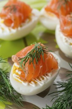 Scottish Recipes | Galavante.com smoked salmon and devile eggs