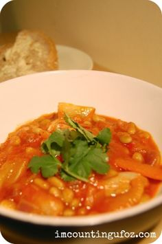 Recipe: Pork and Beans, convenient, comforting and super delicious.