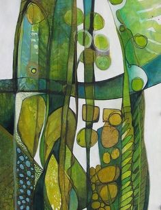 Canadian Artist Debrah Andrews (Green like this almost makes me want to start a new board :) - Okay, yes it DID make me start a new board)