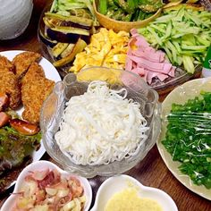 糖質0麺でそうめん風 - 2件のもぐもぐ - 糖質を管理 by irakuyadeki3737 Cobb Salad, Grains, Rice, Meat, Chicken, Ethnic Recipes, Food, Essen, Meals