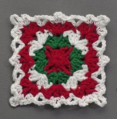 The 209 Best Xmas Granny Square Images On Pinterest In 2018