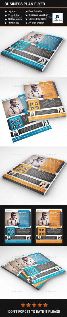 Business plan flyer - Flyers Print Templates