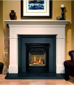 Gas fire place!