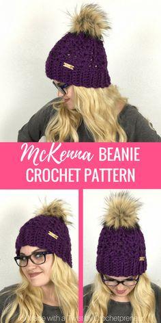 0be996cd7e1 McKenna Women s Beanie Crochet Pattern