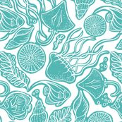 Shop the world's largest marketplace of independent surface designers Surface Design, Spoonflower, Coastal, Aqua, Cabin, World, Life, Water, Cabins