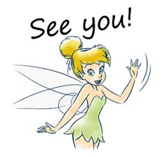 Tinker Bell by The Walt Disney Company (Japan) Ltd. Disney Fairies, Tinkerbell, Walt Disney Company, Cute Stickers, Images, Super Cute, Fictional Characters, Tattoo Ideas, Trading Cards