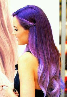 Purple Hair , Dye , Lauren Conrad , Pretty