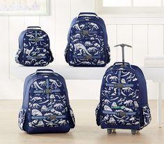 3c8b76451f Mackenzie Blue Dino Glow-in-the-Dark Backpack