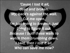 Adore this song! Its been on repeat the last 5 days! lost it all- black veil brides