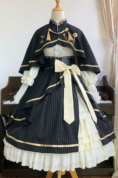 Kawaii Fashion, Lolita Fashion, Cute Fashion, Cosplay Dress, Cosplay Outfits, Old Fashion Dresses, Fashion Outfits, Pretty Outfits, Pretty Dresses