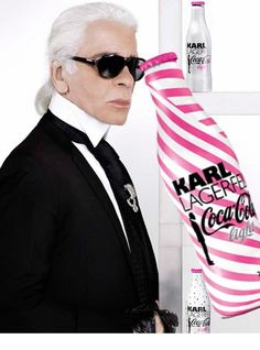 Coca Cola Light and Karl Lagerfeld - One of my favourite soft drink Coca Cola Light, My Favorite Food, My Favorite Things, Soft Drink, Media Images, Karl Lagerfeld, Mens Sunglasses, Style, Fashion