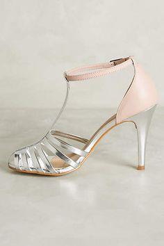 Raphaella Booz Dusk T-Strap Heels - anthropologie.com #anthrofave
