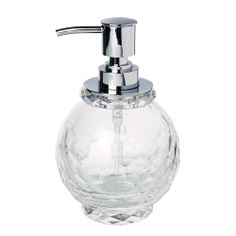 Short Crystal Soap Pump - Beautiful Bathroom - on Temple & Webster today