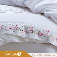 Source KOSMOS Bedding Set Polycotton Embroidery Lace Duvet Cover Quilt Cover on m.alibaba.com