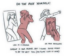 DO THE POSE YOURSELF!