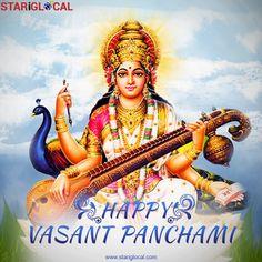 May the blessings of Goddess Saraswati fills your life with great knowledge, wisdom and good luck. #HappySaraswatiPuja #HappyVasantPanchami.
