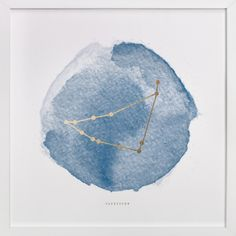 Capricorn by annie clark at minted.com