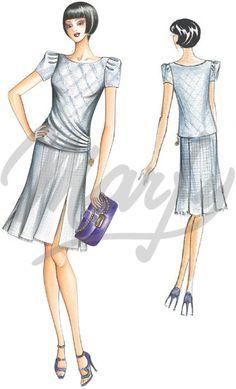 Model 2300 | Sewing Pattern Shirts / Tunic