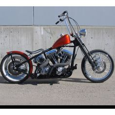 Bobber. I like the peanut tanks and ape hangers!