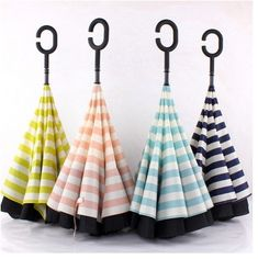 Cheap double layer reverse umbrella, Buy Quality reverse umbrella directly from China windproof umbrella Suppliers: Double Layer Reverse Umbrella Big Double Layer Inside Inverted Upside Down Windproof Umbrella Self Standing