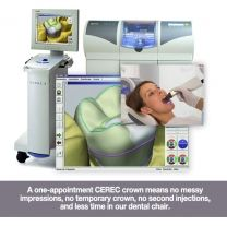 At Serenity Dental, CEREC crowns, an innovative and metal-free alternative, are offered for patients needing the restorative benefits of a #dental #crown without the dangers of traditional models. These new and improved crowns are made to blend in with the #teeth and further strengthen them using a new state-of-the-art technology.