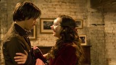 Penelope Wilhern (Christina Ricci) and  Max Campion / Johnny Martin (James McAvoy): in Penelope