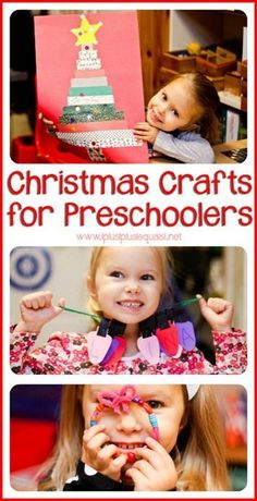 Simple Christmas Crafts for Preschoolers