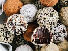 Salted Chocolate Truffles by ohladycakes #Truffles #Chocolate #Salt