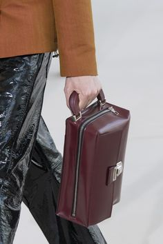 Acne Studios Spring 2020 Men's Fashion Show Details. Designer menswear looks from Johnny Johansson from Spring 2020 Men's runway shows from Paris Men Fashion Show, Men's Fashion, Fashion Trends, Expensive Purses, Small Leather Goods, Leather Bags, Luxury Purses, Fabric Purses, Diy Purse