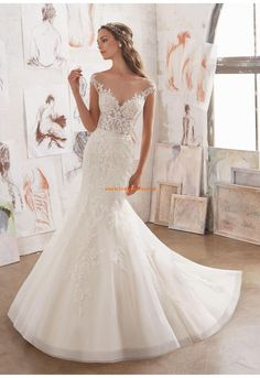 5509 - 2017 Designer Wedding Dresses and Bridal Gowns by Morilee. Gorgeous Off-the-Shoulder Illusion Wedding Gown with a Embellished Bodice and Lace AppliquéŽs on Net. Spring 2017 Wedding Dresses, Bridal Wedding Dresses, Wedding Dress Styles, Dream Wedding Dresses, Designer Wedding Dresses, 2017 Bridal, Event Dresses, Dresses Dresses, Spring Dresses
