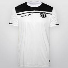 Camisa Penalty Ceará II 2015 nº 10 - Branco+Preto