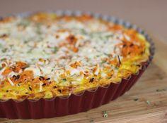 Rezept: Karotten-Quiche