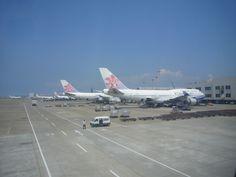 China Airlines hub at Taiwan Taoyuan International